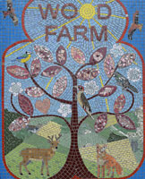 Wood Farm mosaic