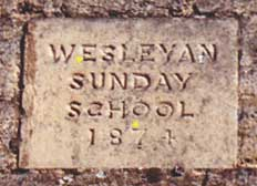 Sunday School stone