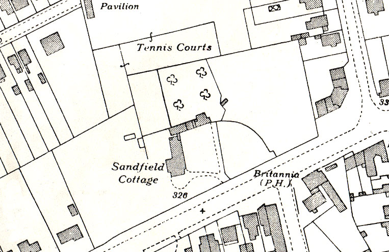 Sandfield Cottage in 1939