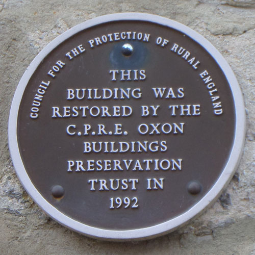 Barton Manor plaque