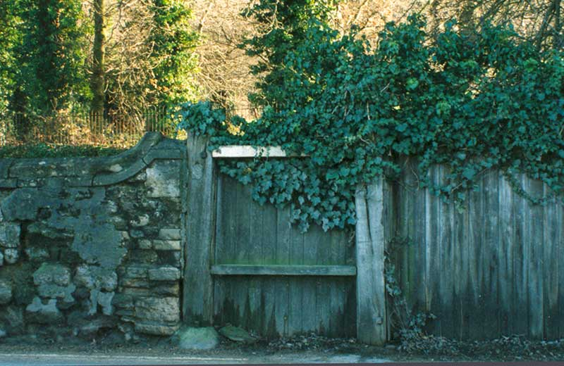 Gate of Marston Lodge