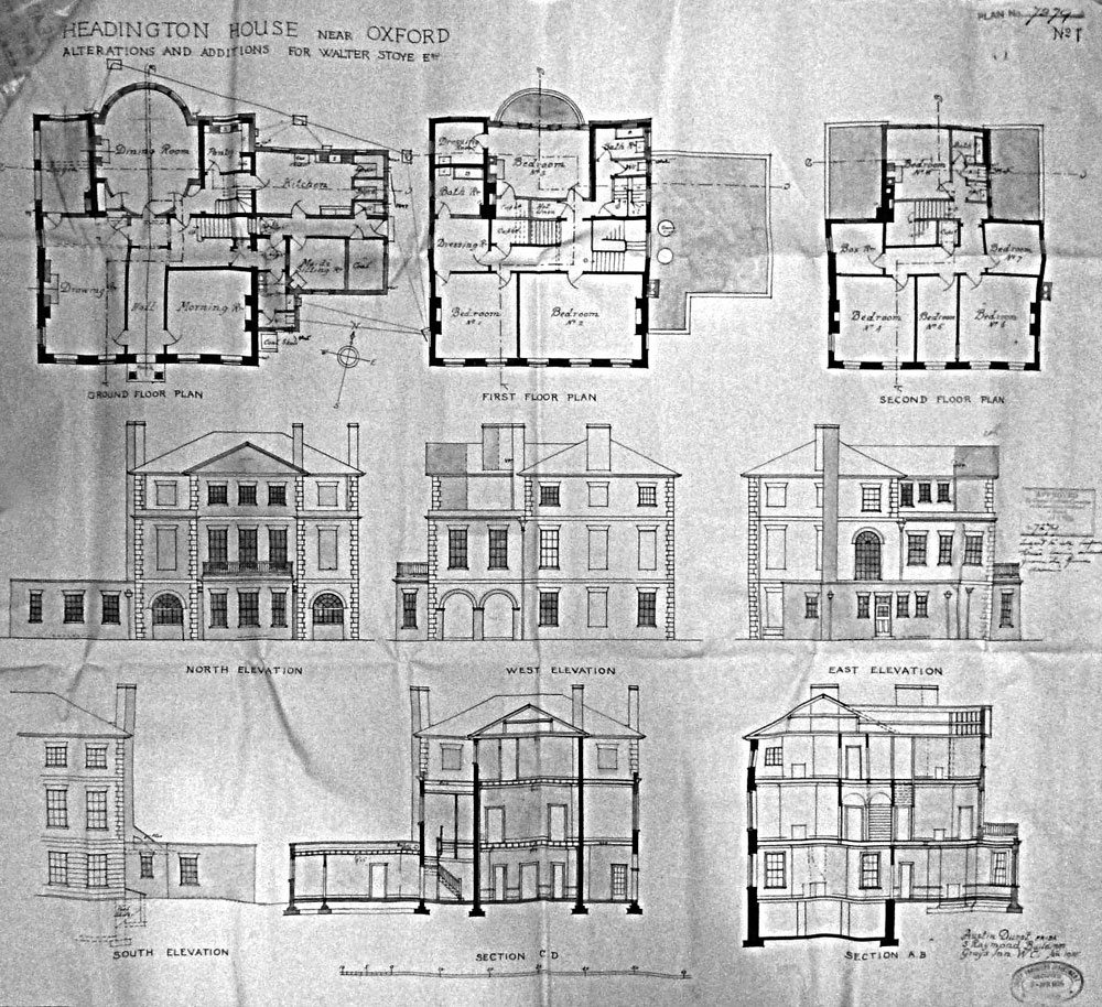 Plans after 1935