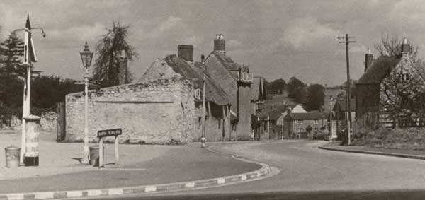 Barton Village Road in the 1950s
