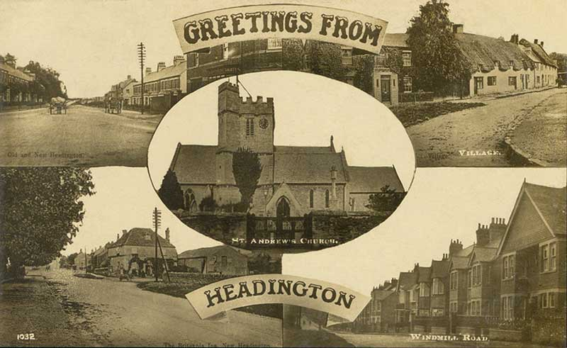 Greetings from Headington