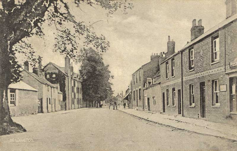 Old High Street near Black Boy