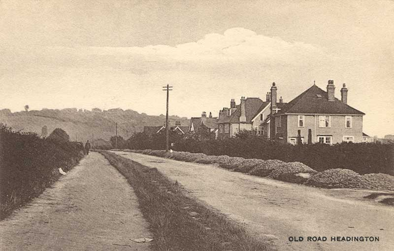 Old Road near Girdlestone Road