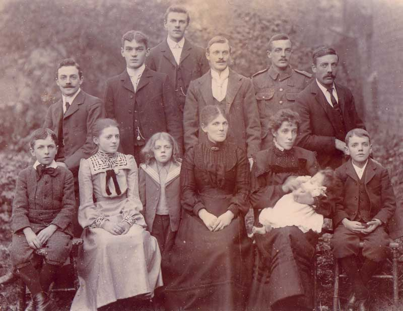 The Stone family in 1898