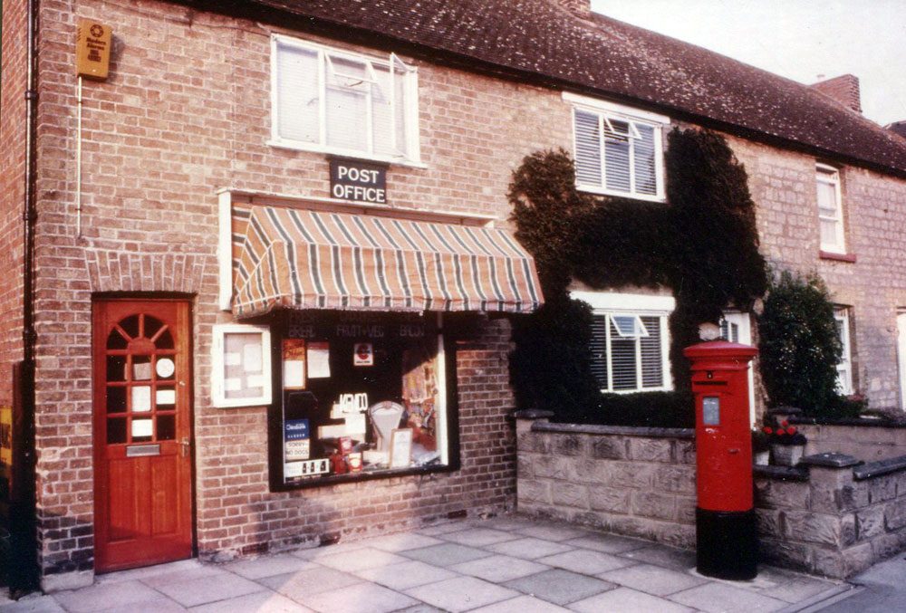 Pitts Road Post Office in 1983