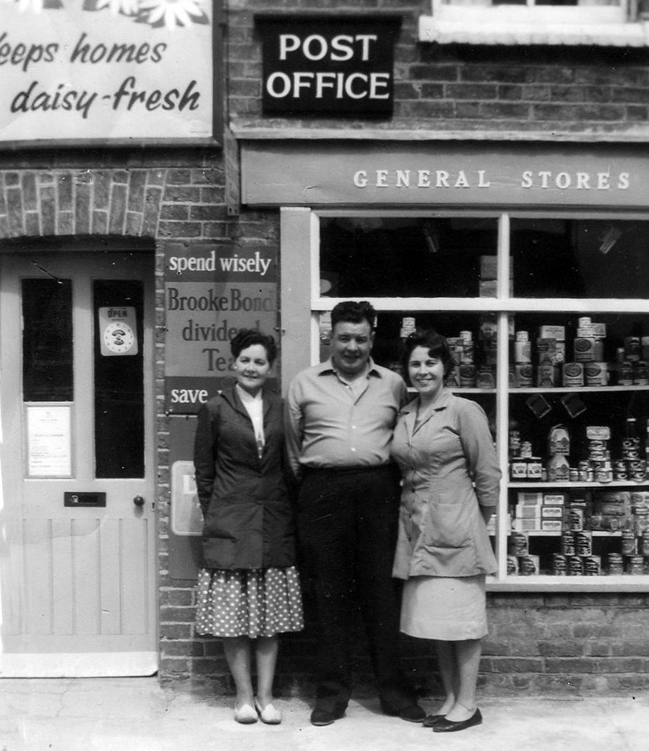 Pitts Road Post Office 1963