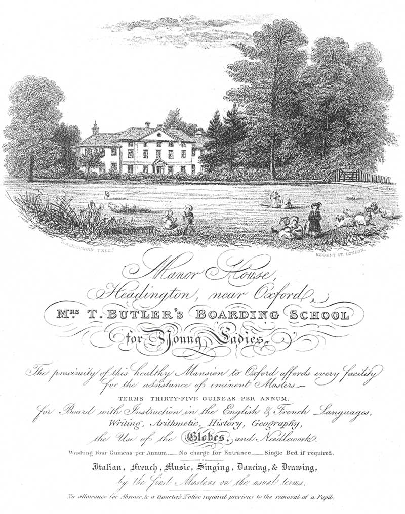 Mrs Butler's Boarding School