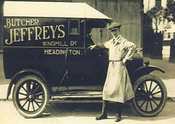 Jeffrey's delivery van
