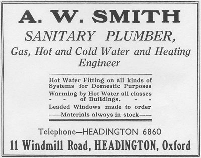 Advertisement for A.W. Smith