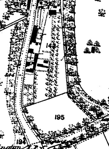 1876 map of supermarket site