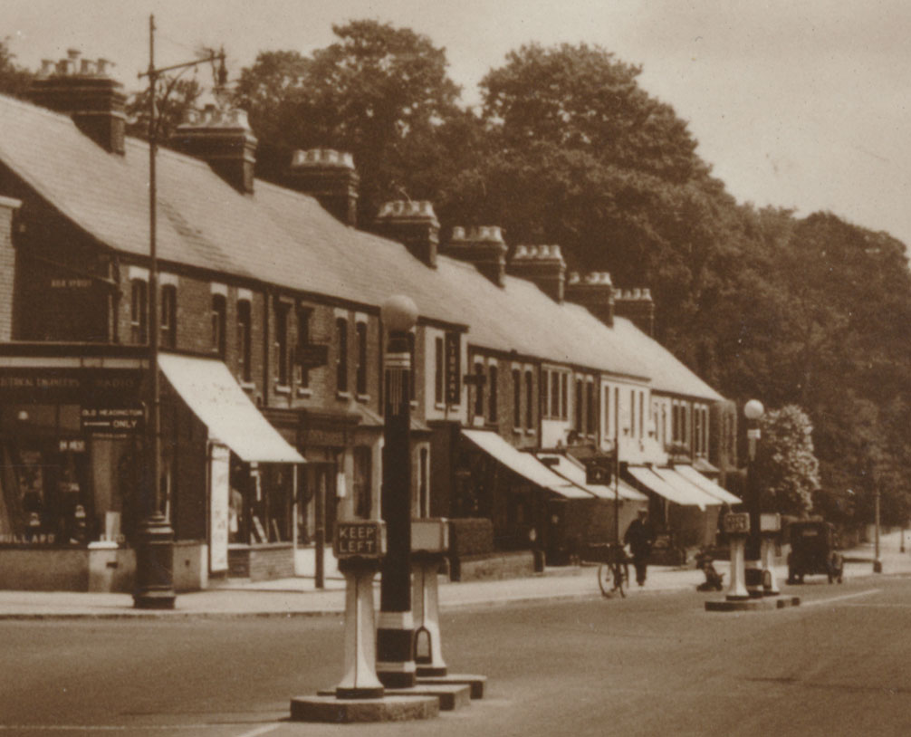 Westbourne Terrace in the 1930s