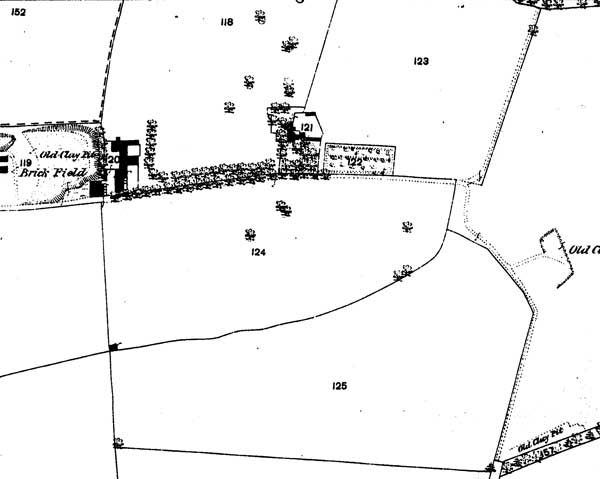 Jack Straw's Lane in 1876