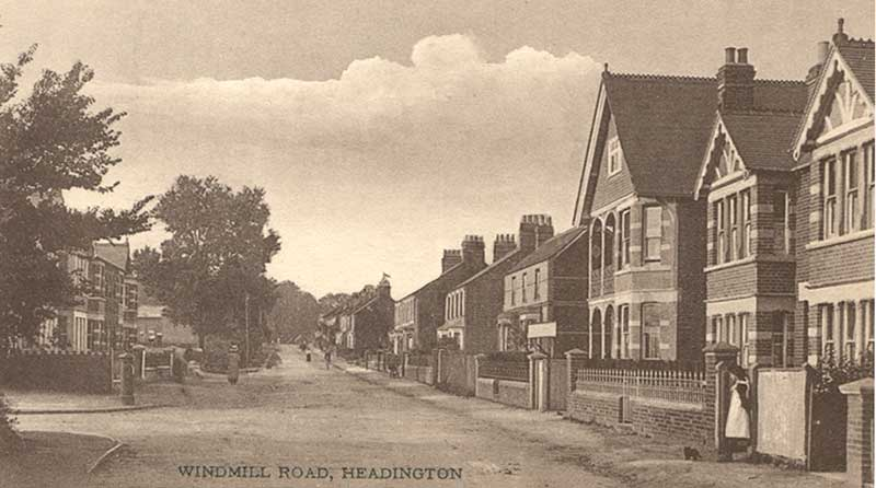 Windmill Road near Bateman Street
