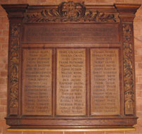 All Saints' board